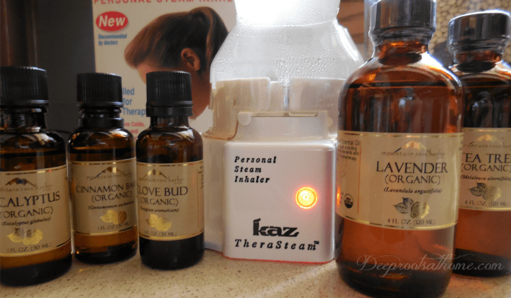 How to Use Essential Oils As Alternative To Antibiotics: Tips & My Recipe. Steam inhaler and essential oils