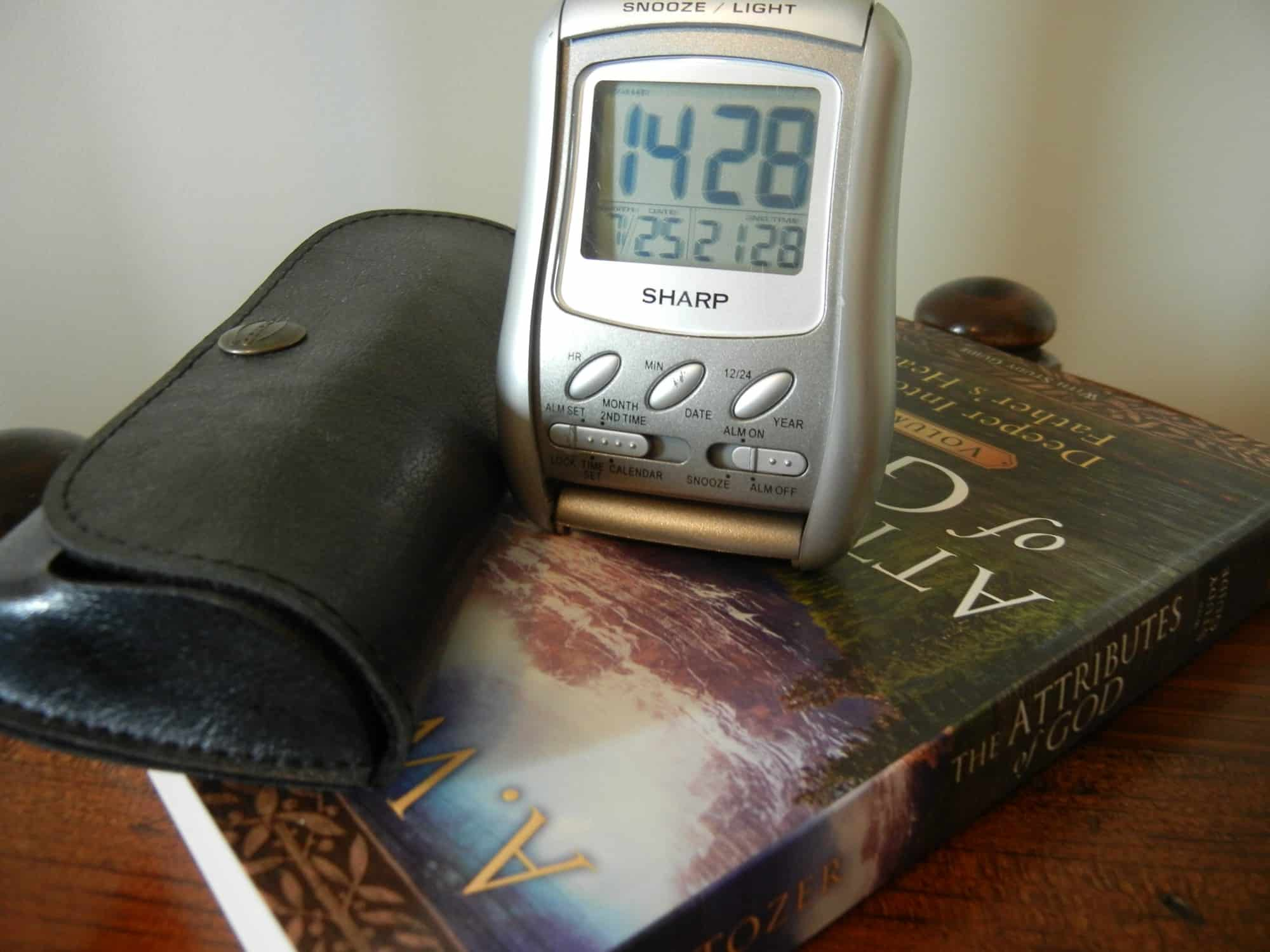 Simple Tips To Lower Your EMF Risks: Start In the Bedroom. A battery operated alarm clock