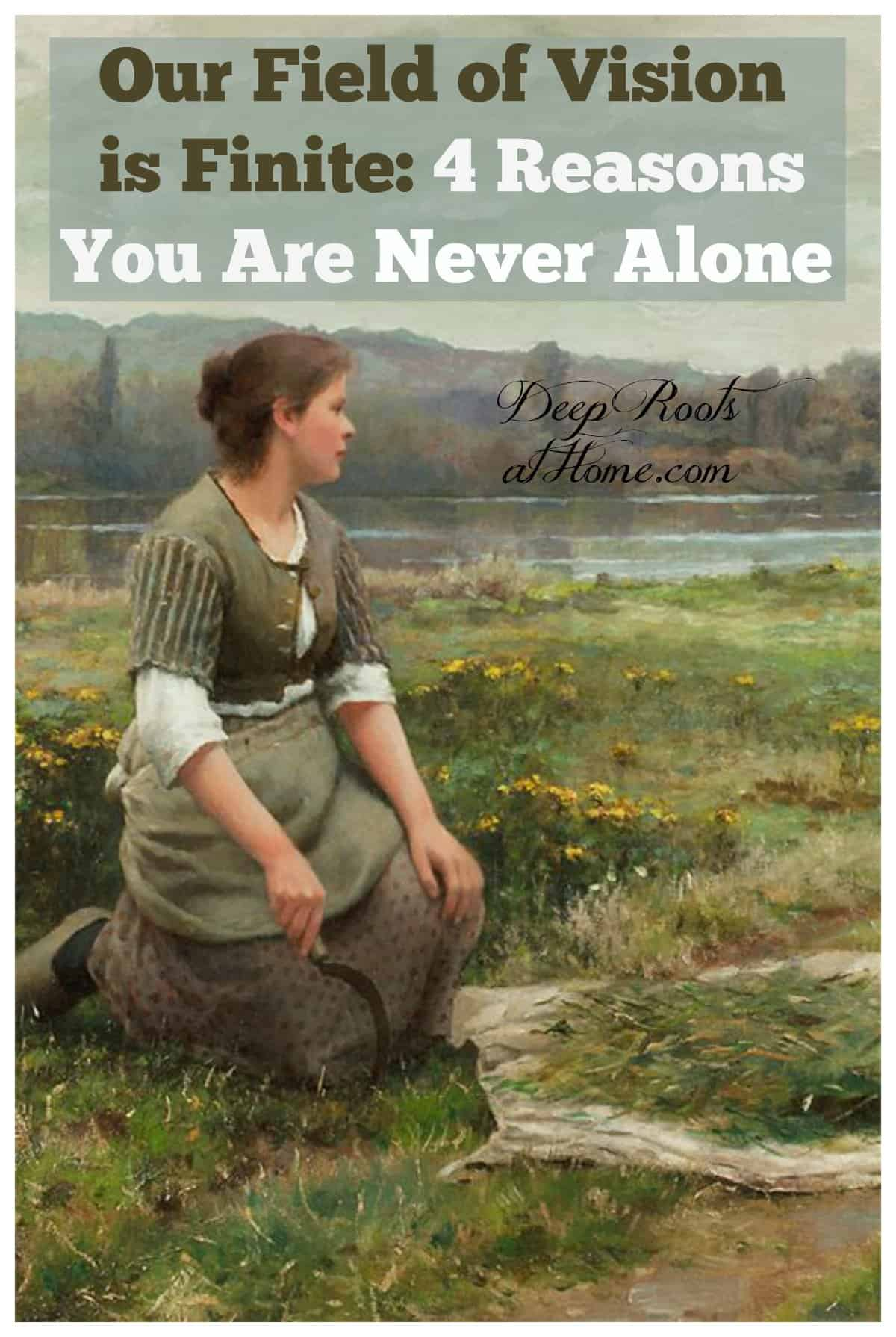 Four Compelling Reasons to Conclude You Are Never Alone. artwork