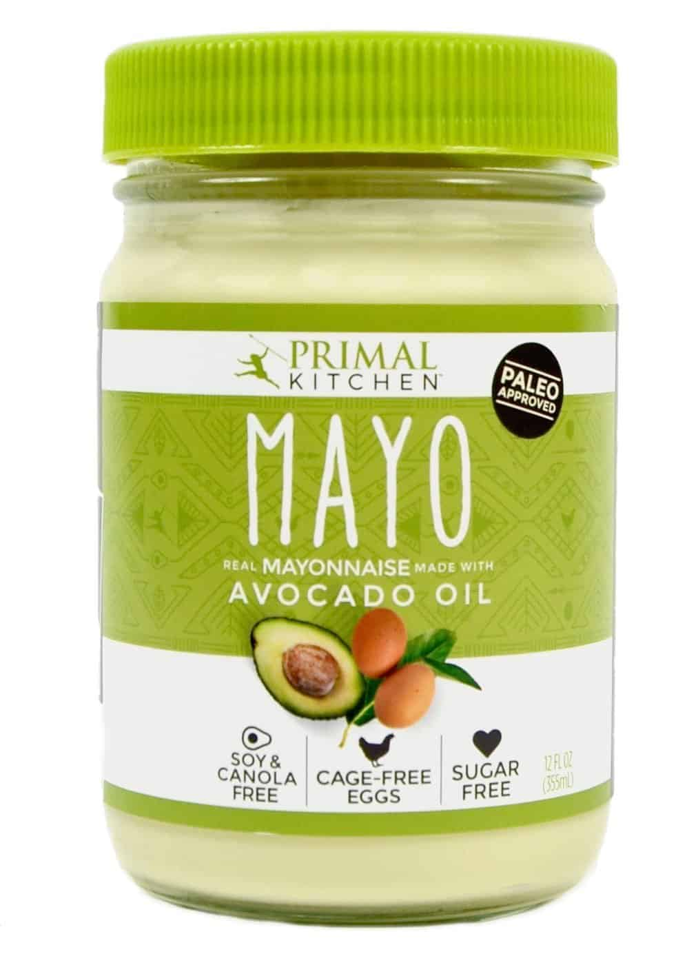 The Best Homemade Mayonnaise Ever, healthy mayo, creamy mayo for tuna salad, ham salad, chicken salad, yellow sauce, homemade blender sandwich spread, chemical free, additive free, Primal Kitchen Paleo Approved Avocado Oil Mayo