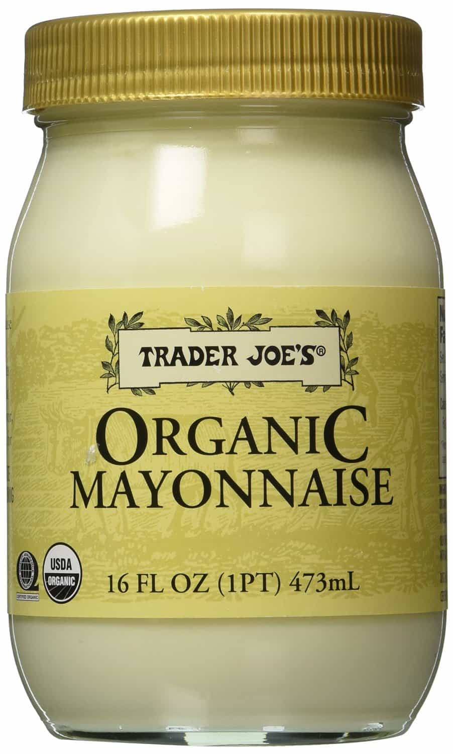 The Best Homemade Mayonnaise Ever, healthy mayo, creamy mayo for tuna salad, ham salad, chicken salad, yellow sauce, homemade blender sandwich spread, chemical free, additive free, Trader Joe's Organic Mayonnaise