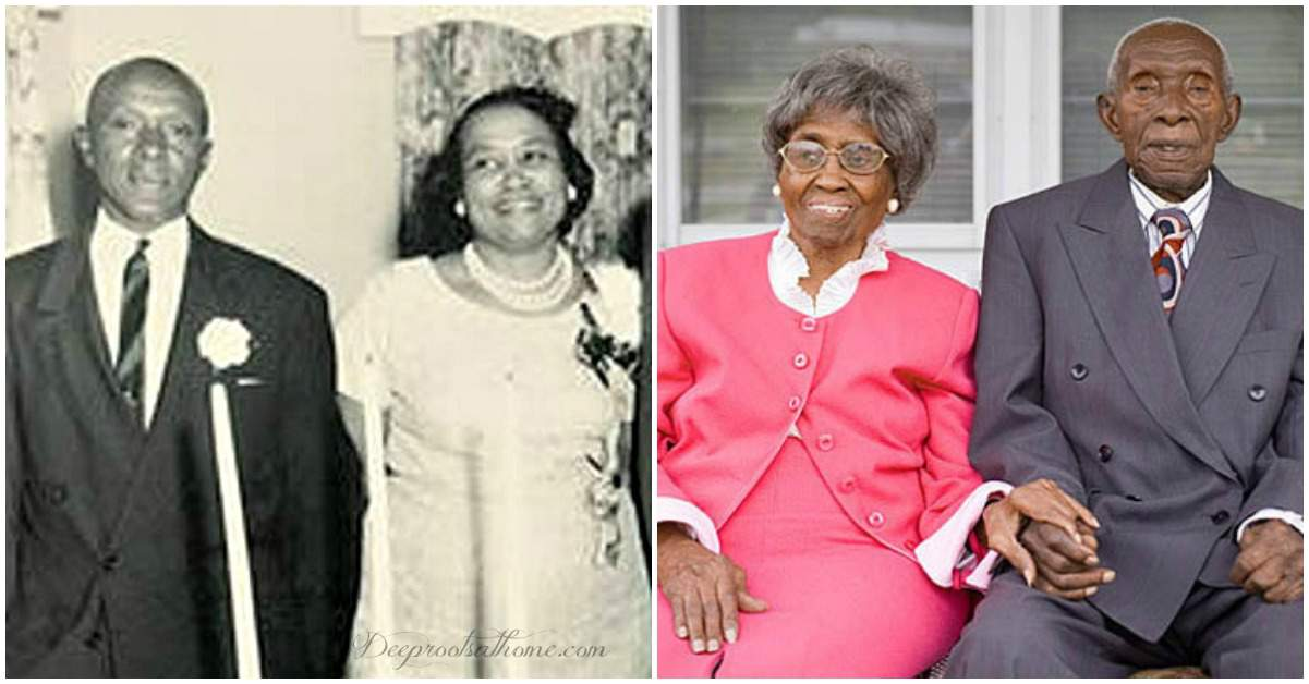 Herbert and Zelmyra's Choice Secrets Of Successful & Long Marriage. Herbert and Zelmyra Fisher when married and 85 years later