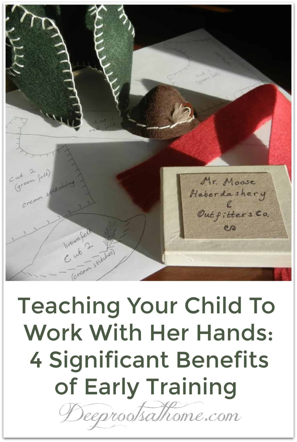 Teaching Your Child To Work With Her Hands: 4 Benefits of Early Training. Drawings for making a wardrobe for a moose as a gift