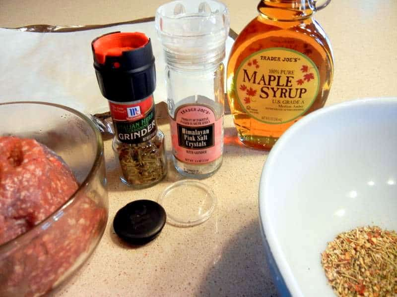 Men Love Meat / Make Your Man Summer Sausage. ground lamb, Italian seasoning, maple syrup,