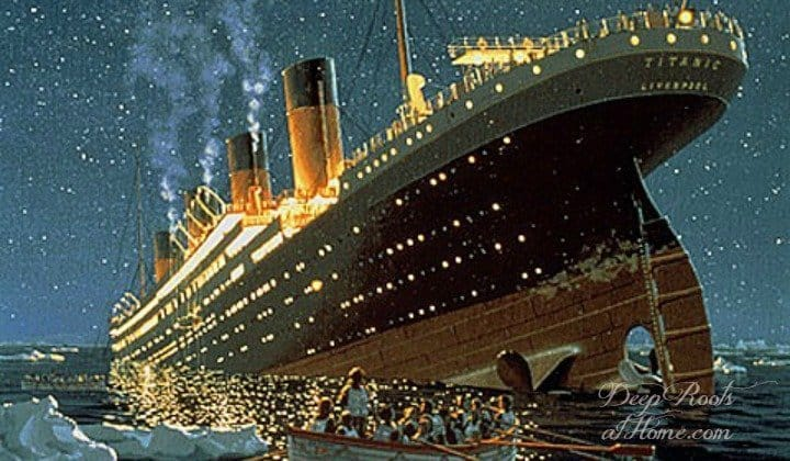 Titanic True Story: Preacher John Harper's Last Hours Remembered. The ship doing down
