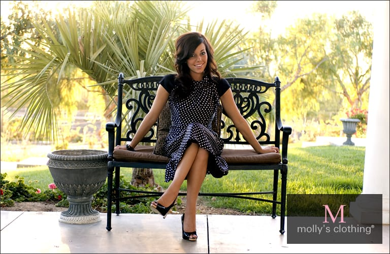 From Church To Wedding To Black Tie Event: Getting Dress. Molly's Clothing little black dress