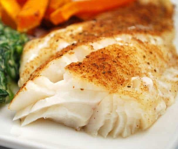 easy entree of fish fillets with Old Bay seasoning