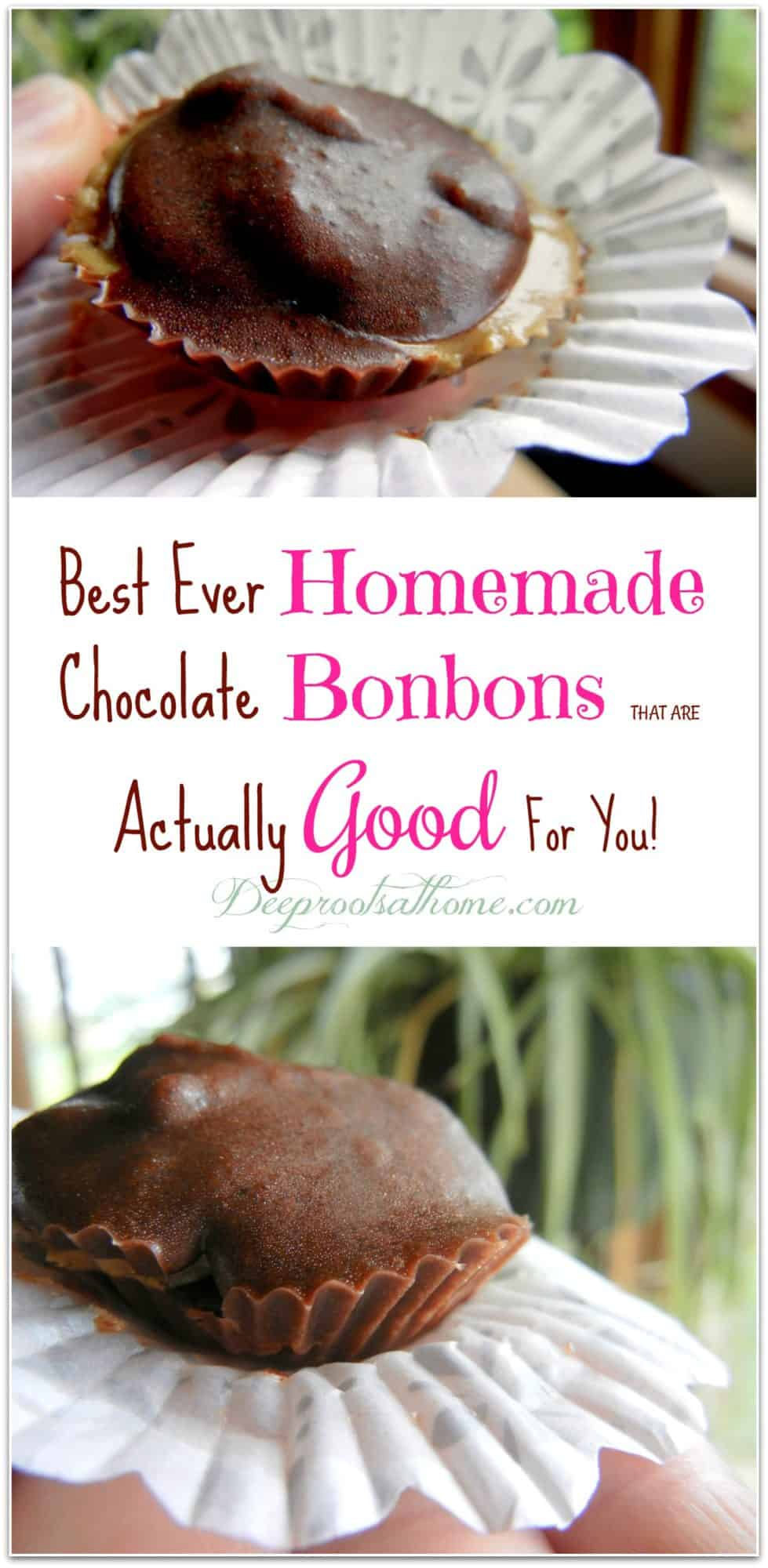 Best Ever Homemade Chocolate Bonbons ~ Actually Good For You, Trader Joe's, taste good, auto-immune symptoms, lupus, food allergies, Reese's cups, mid-afternoon pick-me-up, stabilize blood sugar, processed sugar, putting on weight, getting fat, candida yeast, cacao powder, recipe, tutorial, allergy season, sea salt, unsweetened, candy, dark chocolate, Hand-made, homemade, keeper at home, raw honey, sunflower seed butter, coconut oil, raspberries and chocolate, desserts, healthy, Tropical Traditions, Real Salt, Rapunzel cocoa, organic, French Royal court, chocolate covered candies, redundant word,