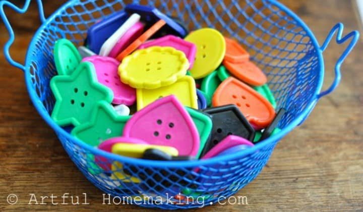 Best STEM Toys for Toddlers: Fine Motor Coordination For Little Ones. Toddler toys in a basket,