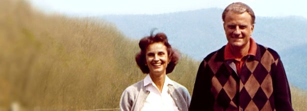 young Ruth and Billy Graham