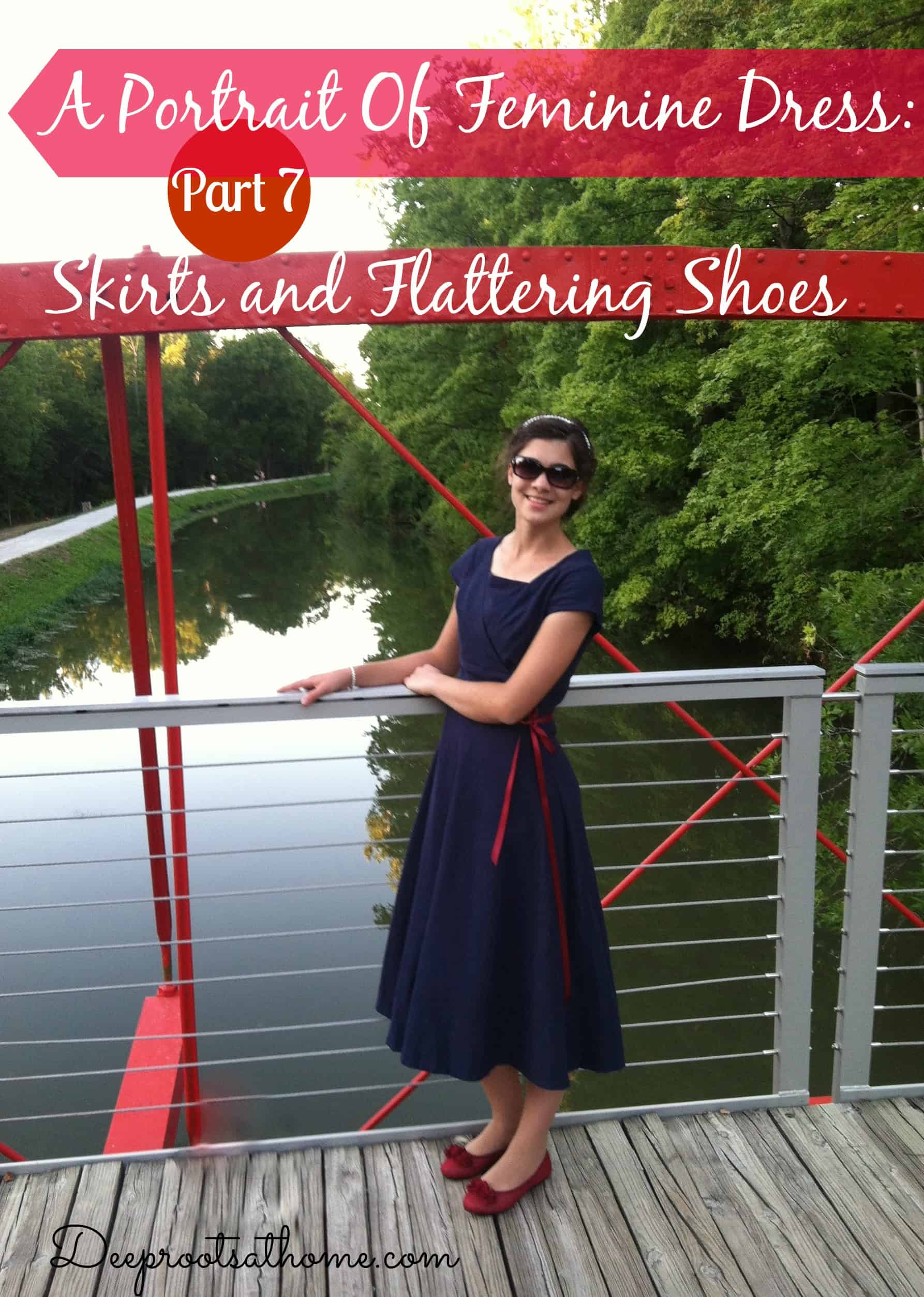 Finding Flattering Shoes & Footwear To Wear With Skirts & Dresses. strappy shoes, feminine, modest, with skirts, tights in the winter, leggings, flattering shoes for skirts