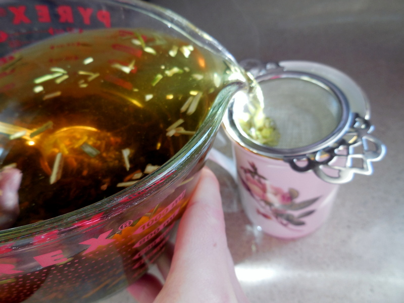 My Safe, Old Tea Remedy To Soothe Colicky Babies & Very Tired Parents. brewing herbal tea,