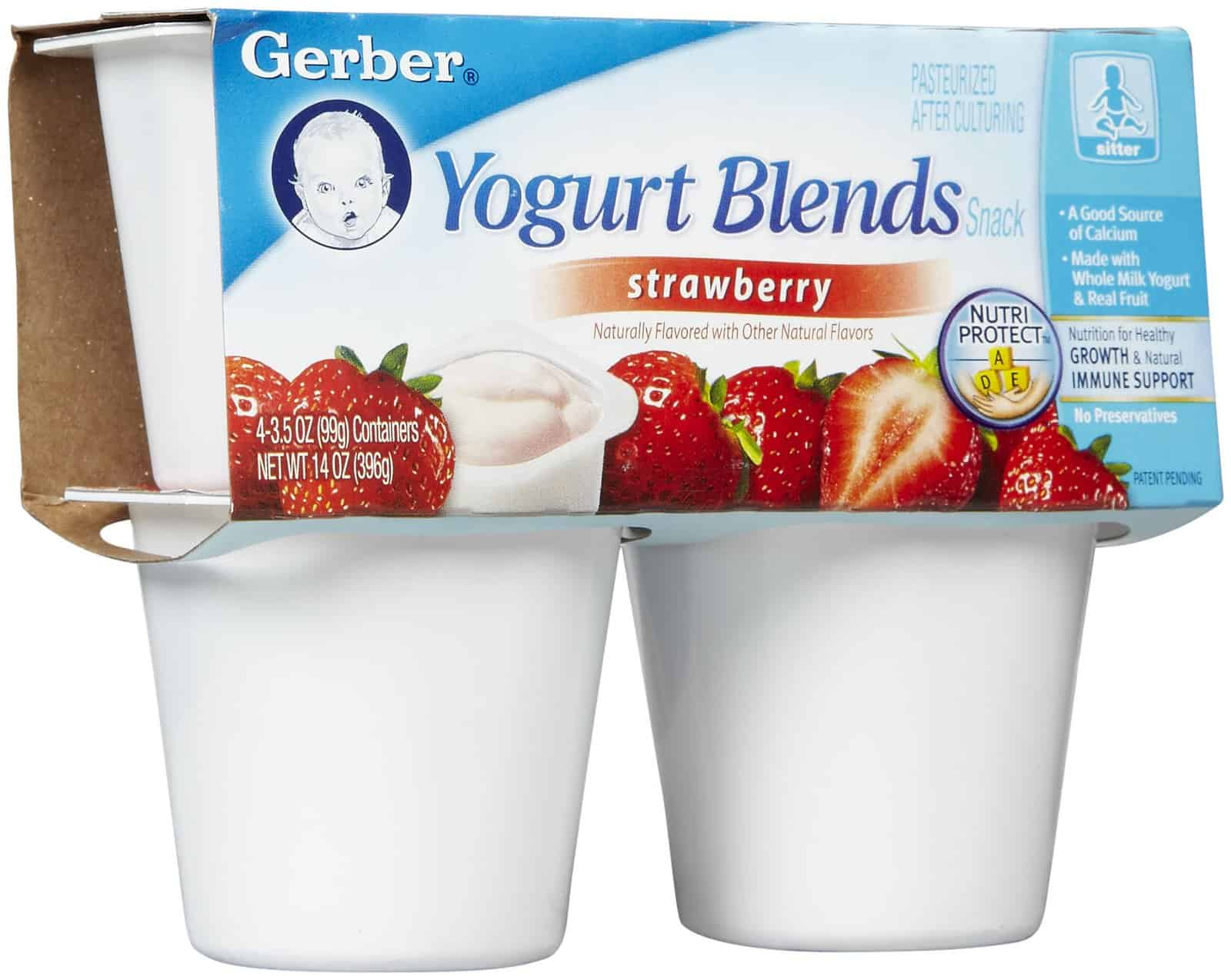 Which Is Worse: White Refined Sugar or the Additive Aspartame? Gerber Baby Yogurt blends