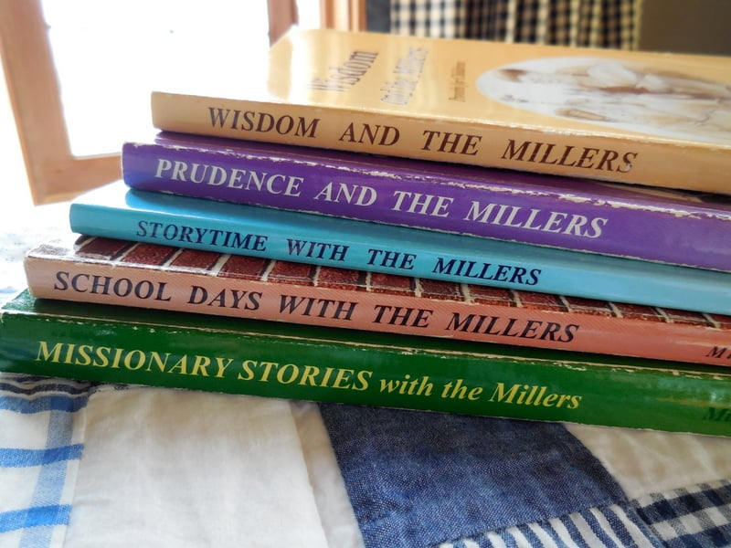 Character-Building Book Resources For Raising Girls, the Miller family series of classics, Wisdom and the Millers