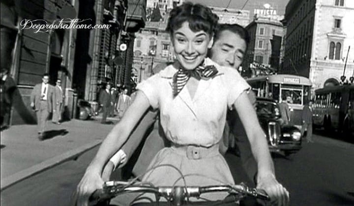 Time-Tested Beauty Tips and Audrey Hepburn, Roman Holiday, movie,