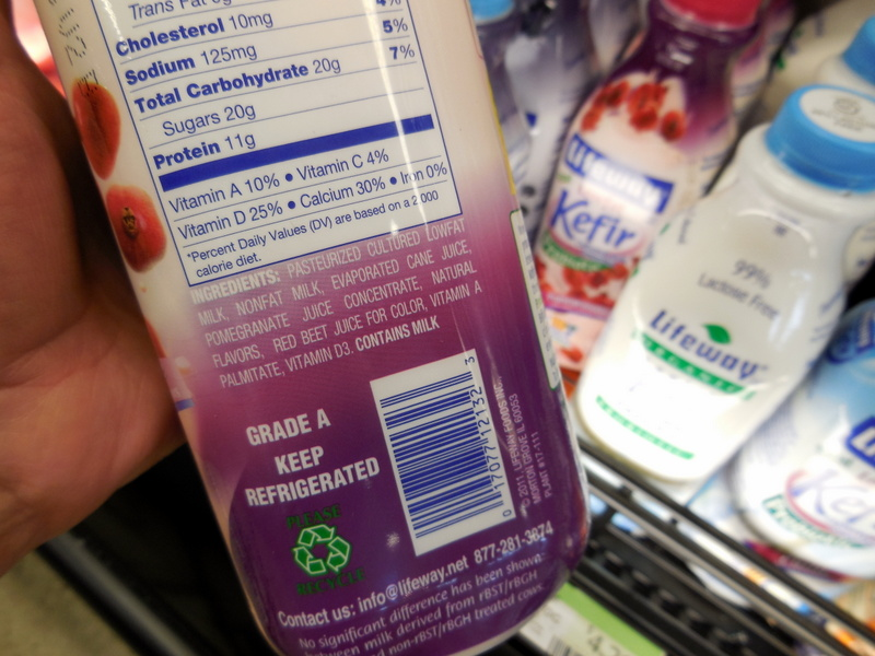 Addictive Flavors & Foods To Avoid, Lifeway kefir products