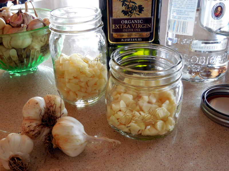 Put Garlic Tincture In Your Medicine Chest~ A DIY Home Remedy. Making a tincture of garlic with vodka