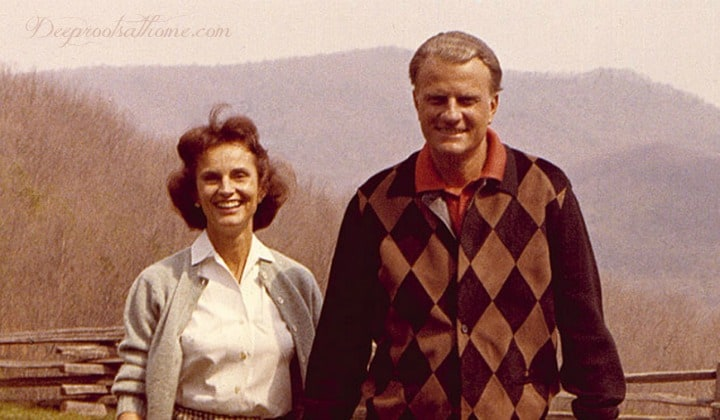 Marriage Lessons & Quotes From Ruth Bell Graham, walking hand in hand, North Carolina, photograph of young Ruth Bell Graham, Billy Graham's wife, Ruth and Billy, quotes, smiling couple, happy marriage