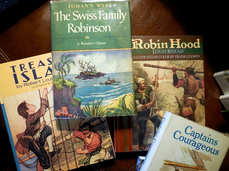 100+ Books To Fight Back the Culture: Preschool Thru Grade 12. Sarah Clarkson, 3 of the best boys classic adventure books in the world: Treasure Island, Swiss Family Robinson and Robin Hood.