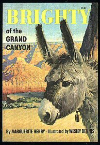 100+ Books To Fight Back the Culture: Preschool Thru Grade 12. Brighty of the grand canyon, by Marguerite Henry