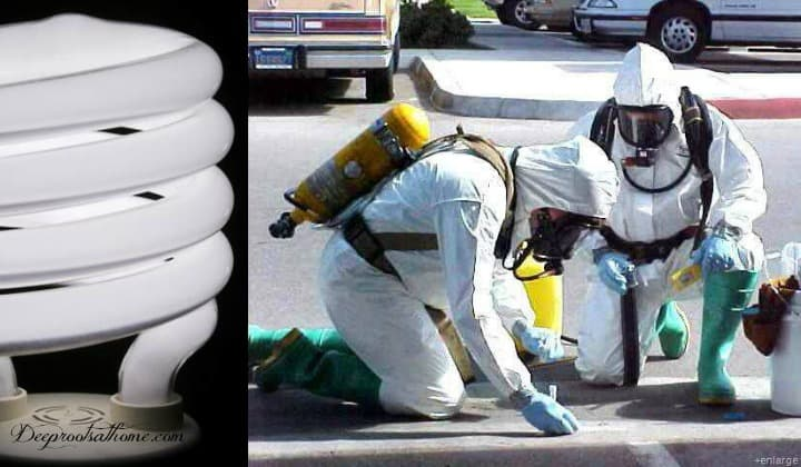 Toxic (Cancer-Causing) Waste In YOUR Home?,melanoma, skin cancer, mercury vapor, haz-mat suit, mercury, cancer risk, ultraviolet radiation, UVC rays, UVA rays, going green, environment, homemaking, housekeeping, be informed, ultraviolet radiation exposure, Alliance for Natural Health, energy-efficient compact fluorescent light (CFL) bulbs, General Electric, GE, UVC and UVA rays, phase-out of incandescent light bulbs, healthy home, skin cancer, melanoma, mercury exposure, toxins in the home, cancer-causing agents, replace CFL bulbs, quote, Franklin D. Roosevelt, EPA rulings, dangers in the home, clean up a broken CFL bulb, proper disposal methods, cancer risks,