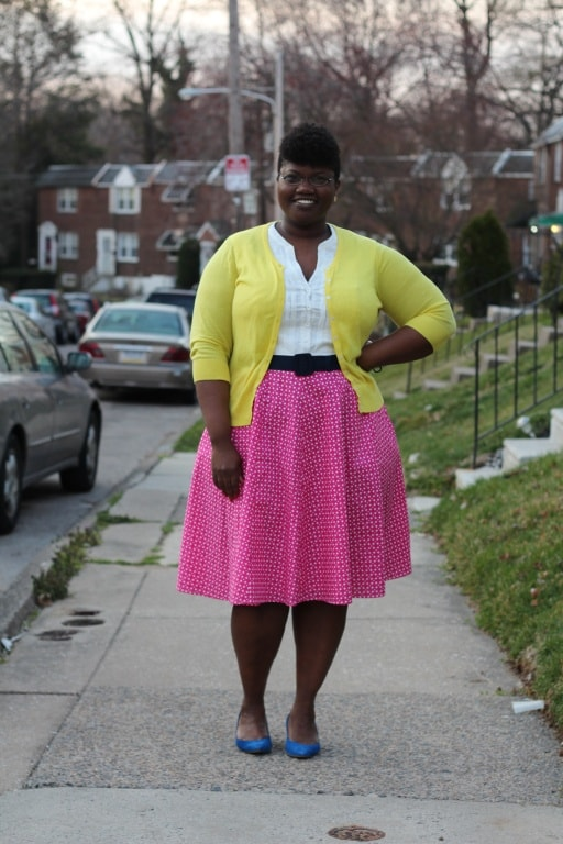 The Plus Size Woman: Put-Together, Attractive, Feminine Dressing. curvy girl