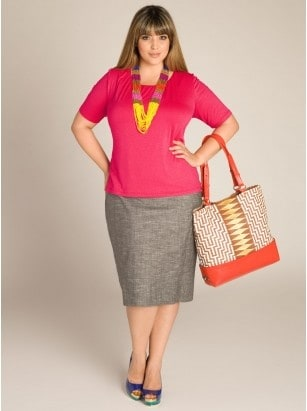 The Plus Size Woman: Put-Together, Attractive, Feminine Dressing, curvy girl