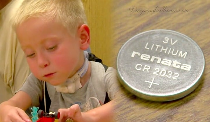 Parents: One Little Disc-Like Button Battery Can Kill Your Child. button battery in child's throat