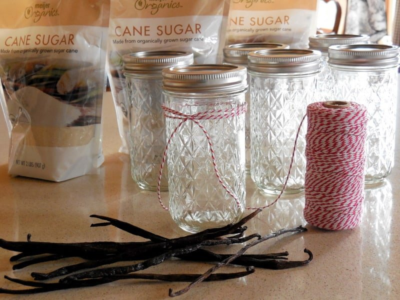 Making Vanilla Sugar For Baking and Holiday Gift-Giving. Getting ready to make vanilla bean gifts