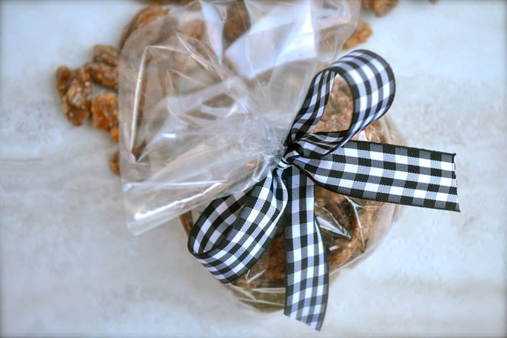 Aunt Tammy's Homemade Sugared Pecans, gift, recipe, directions, tutorial, ingredients, family, story time, tickle fights, Christmas, sweet treat, candy, finder food, dessert, snack, roasted pecans, butter, egg whites, spices, parchment paper, homemaking, hostess gift