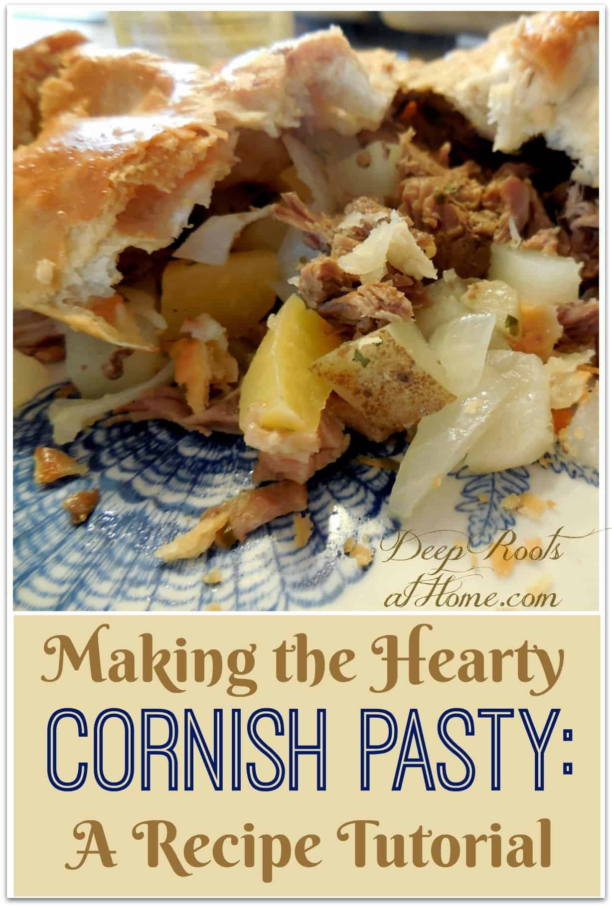 Making the Hearty Cornish Pasty: A Recipe Tutorial. Contents of a pasty meat pie
