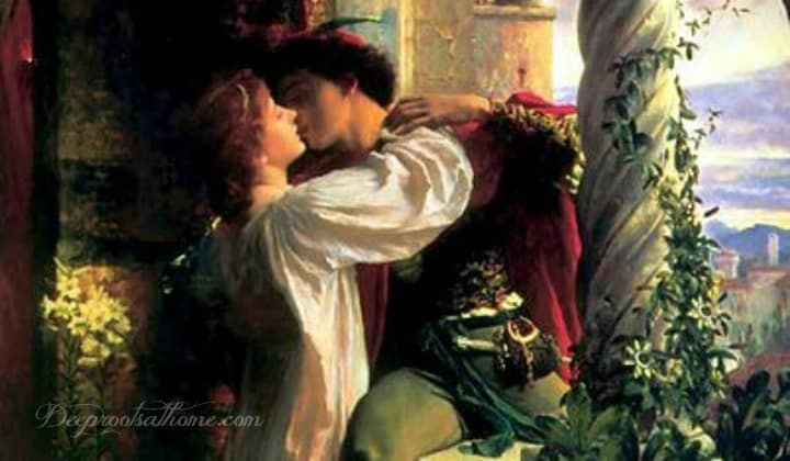 Why I'm Still Romancing My Man At 60-Something. Romeo and Juliet, kissing