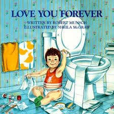 book Love You Forever, Robert Munsch
