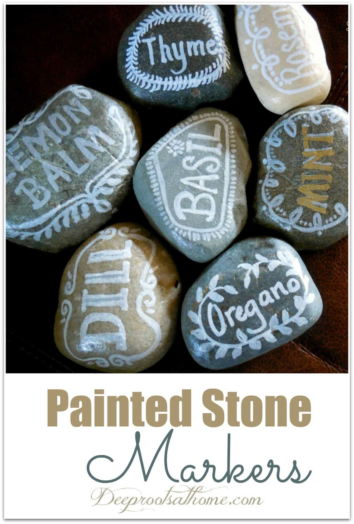 Painted Stones Paper Weights & Other Such Creations. decorative rocks