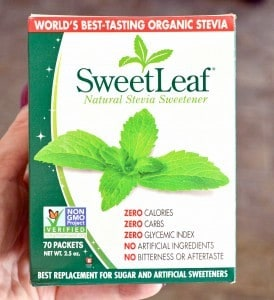 Make Your Own {Non-Processed} Stevia Extract {& Why I Do It}. SweetLeaf stevia powder
