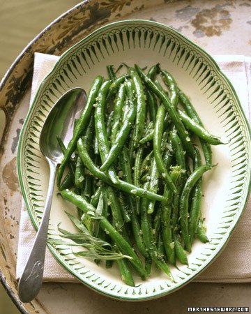 The Secret To Enjoying The Taste Of Fresh Herbs All Year, herb butter on green beans