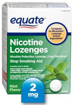 50+ Aspartame-Containing Products To Avoid. Equate nicotine lozenges,
