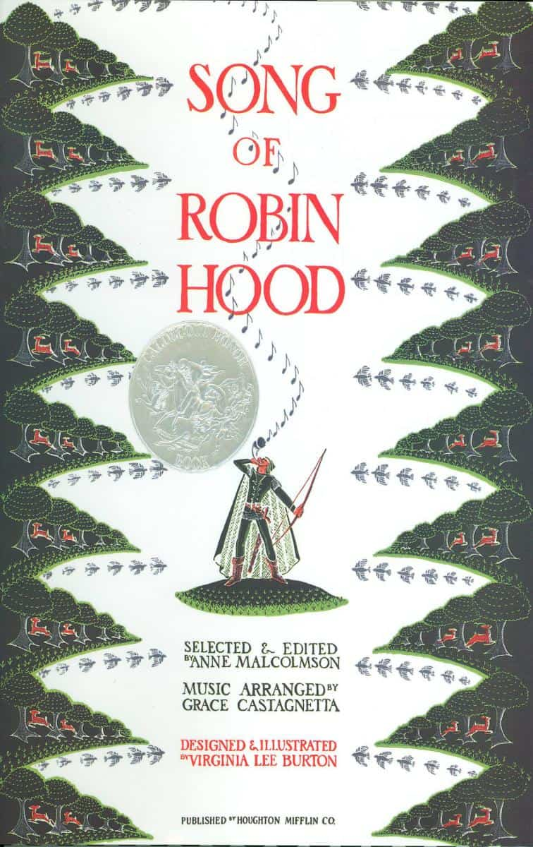 Virginia Lee Burton, Fabulous Children's Books Author. Song of Robin Hood