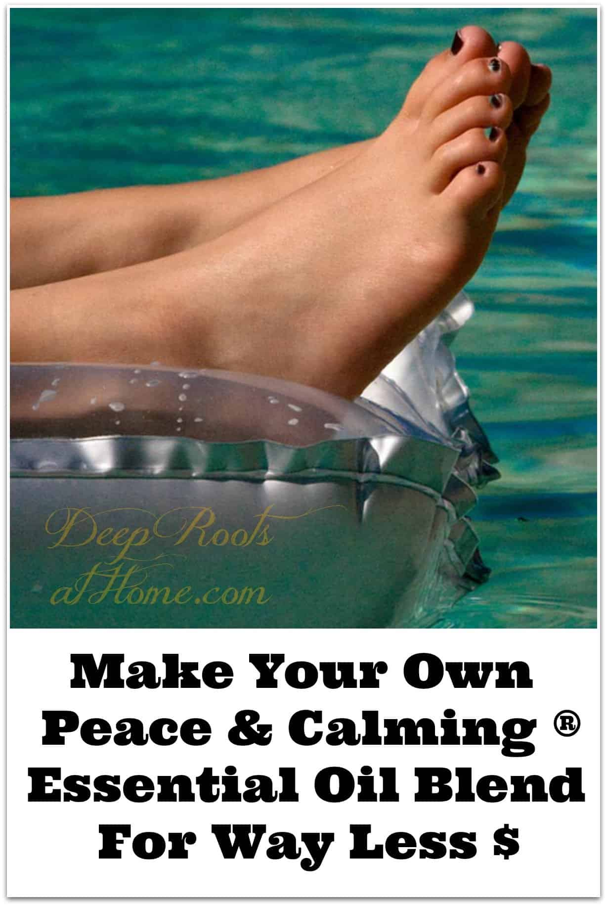 Make Your Own Peace & Calming ® Essential Oil Blend For Way Less $. My recipe for peace and calming blend.