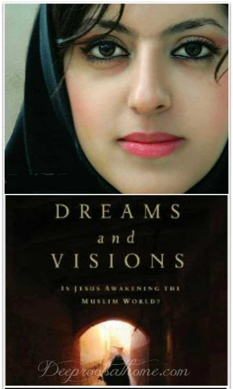Visions & Dreams To Muslims Around The World That Can't Be Dismissed, Pinterest image of a beautiful woman who experienced a vision of Jesus