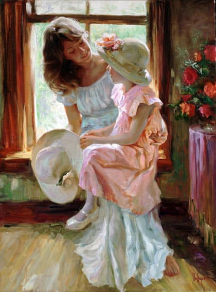 Morning Chat by Vladimir Volegov