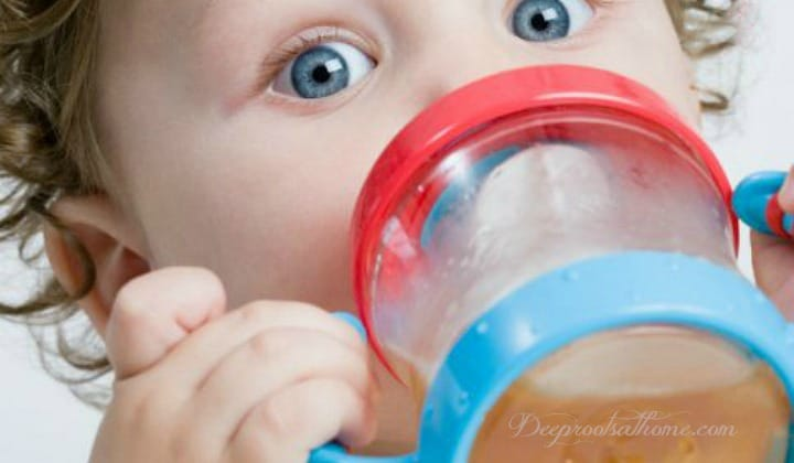 Plastics Messin' With The Hormones Of Our Children? sippy cup