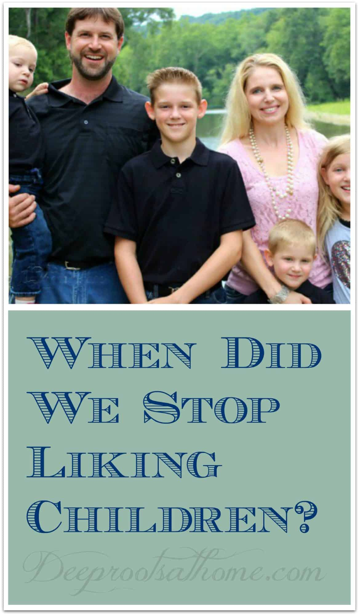 When Did We Stop Liking Children? The Platt family Pin Image