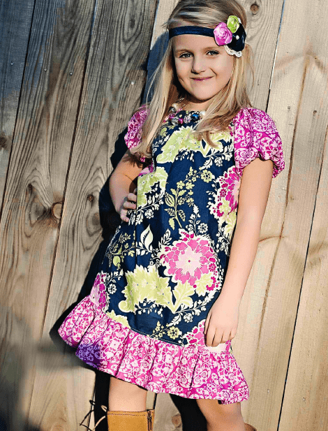 Lillian Weber's Basic Peasant Dress Pattern To Celebrate her 100th Birthday!, handmade, tutorial, 2T, 3T, 4T, sizes, make your own pattern, short sleeves, modest, printable, downloads, simple, easy, donate, sewing pattern, sewing, pillowcase dress pattern, directions, Free, girls. youth