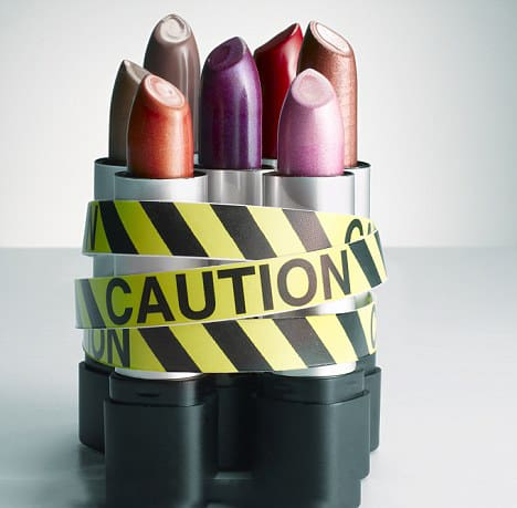 Nasty Chemicals In Our Skin Care Products: 25 Safe Brands & Singles. Lipsticks with unsafe chemicals in them.