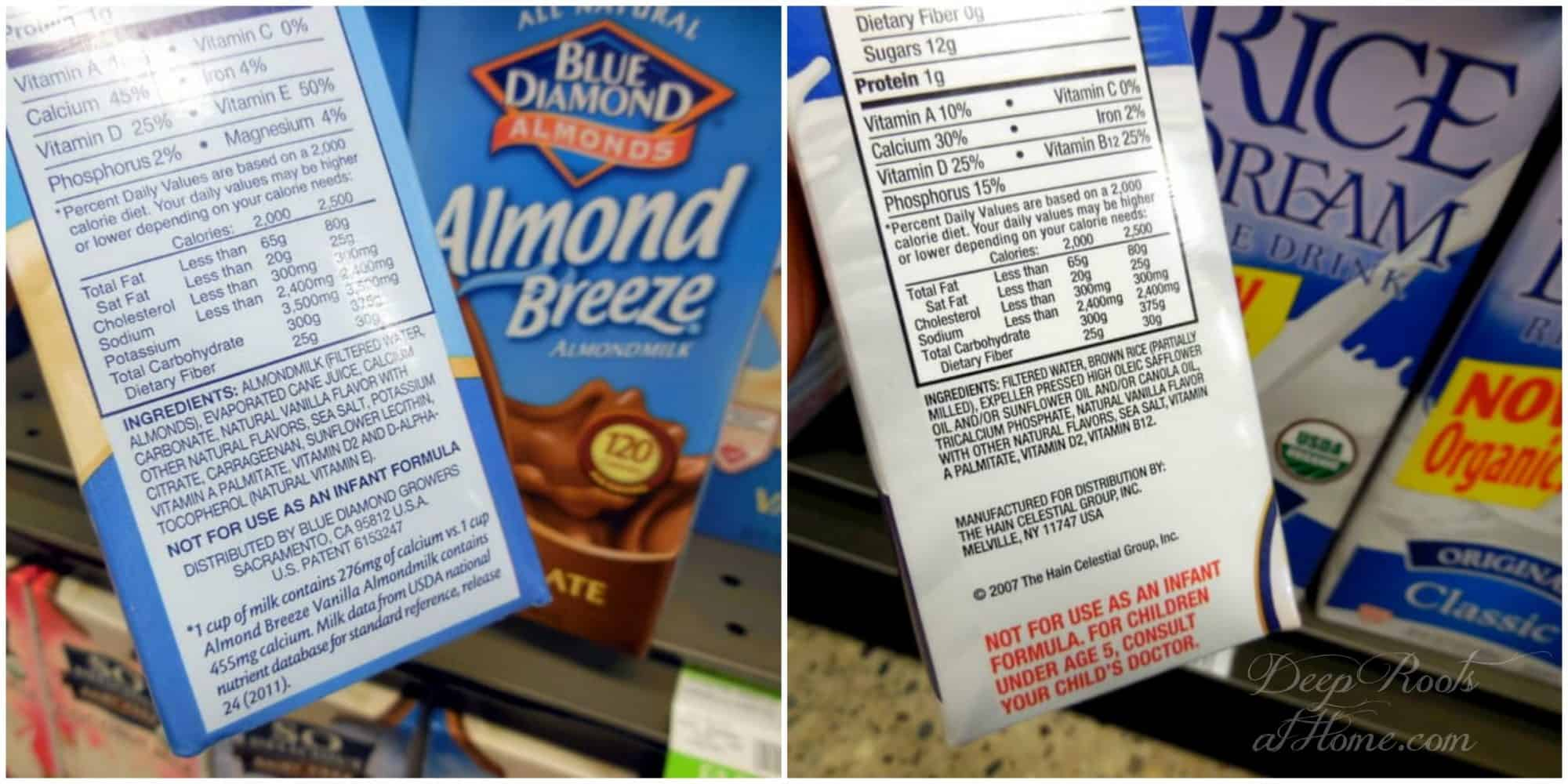 Addictive Flavors & How the Food Giants Have Us Hooked.Almond Breeze drinks, Rice Dream drinks