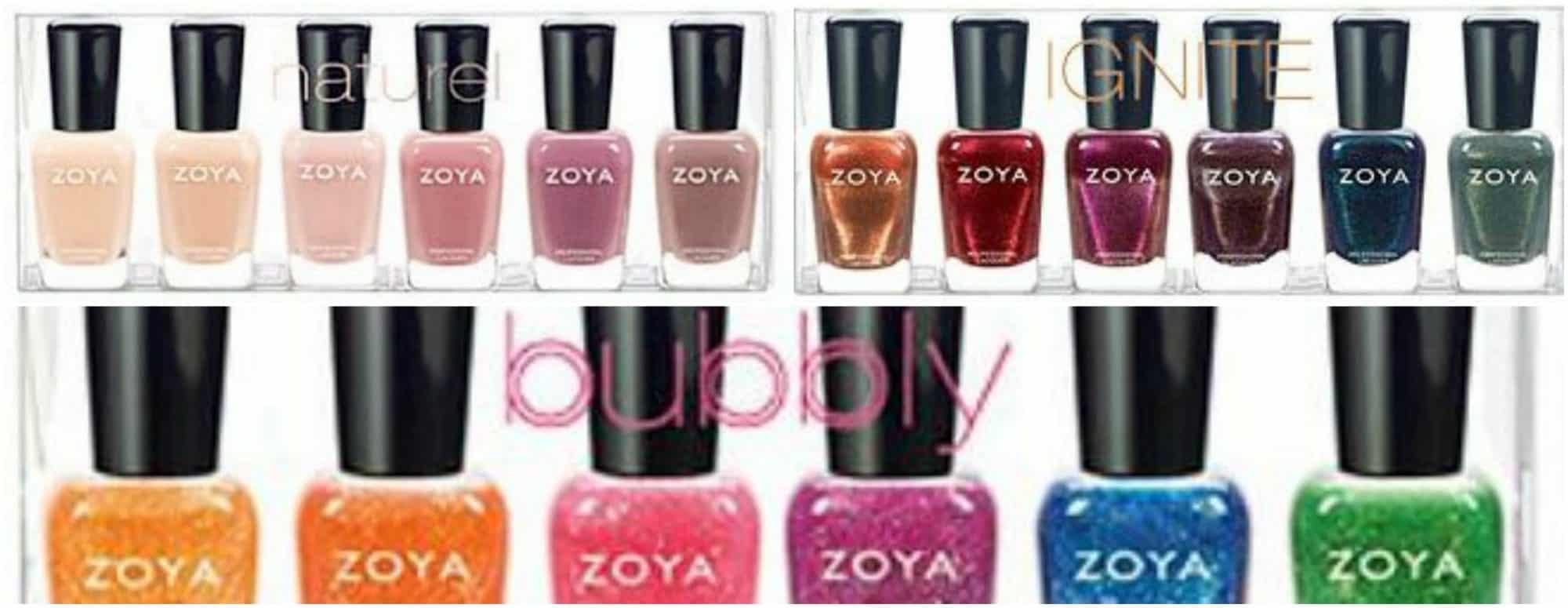 Zoya's new pinks, brights and Zoya's darker colors
