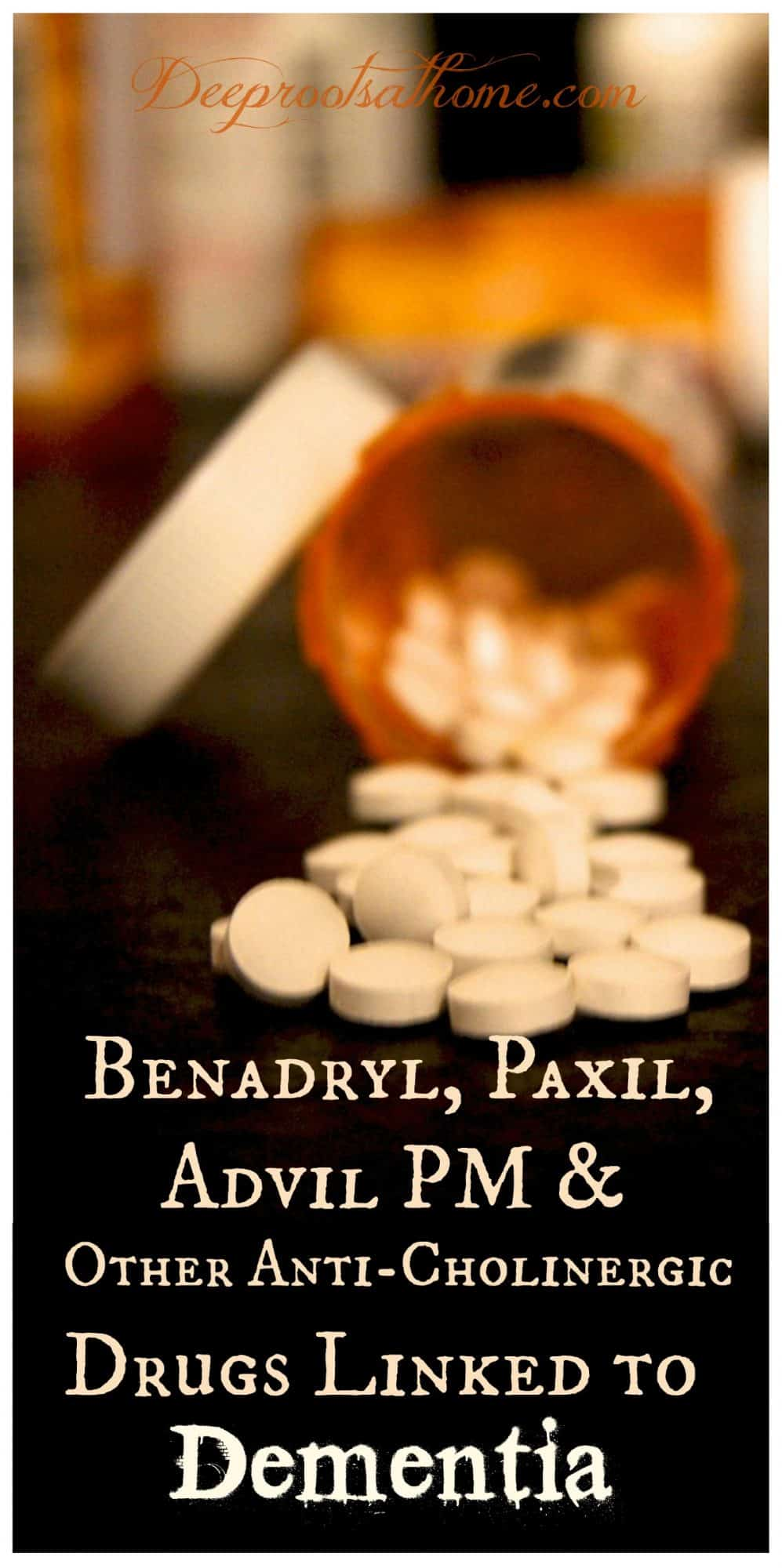 Benadryl, Paxil, Advil PM & Other Drugs Linked to Dementia, popular allergy drugs, insomnia drugs, health risks, research, brain imaging technology, anticholinergic drugs, brain atrophy, Benadryl, Demerol, Dramamine, Paxil, Advil PM, Unison, cognitive decline, sleep aids, hay fever medications, increased risk of dementia, asthma drugs, Atrovent, Spiriva, solifenacin-containing drugs, Vesicare, prescription, OTC, over the counter, natural remedies, essential oils, peppermint oil, basil oil, eucalyptus oil, relief for allergies, colds, cough, sinusitis, asthma, bronchitis, reduce inflammation, diffuse, carrier oil, melatonin. passionflower, valerian, calcium/magnesium, Vit B12, relaxation, lavender
