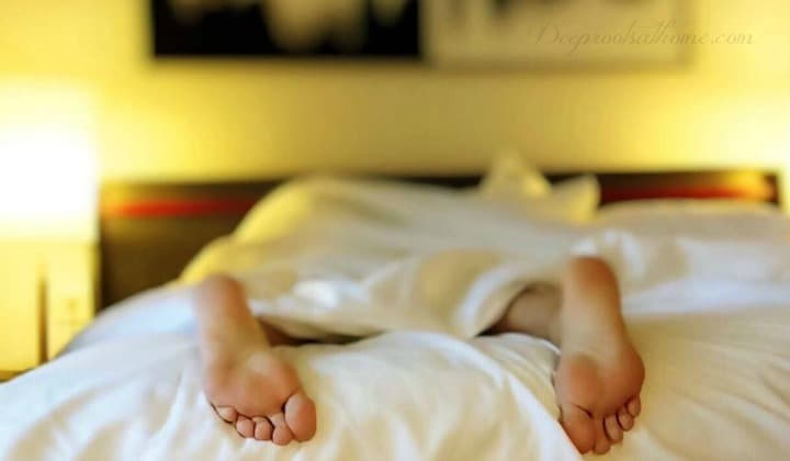 6 Scientific Reasons To Sleep On Your Left Side, a man asleep on stomach