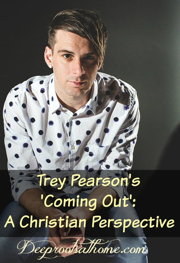Trey Pearson and His 'Coming Out': A Christian Perspective, Trey Pearson is the lead singer of a Christian rock band